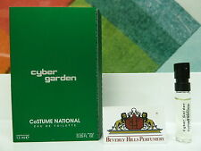 CoSTUME NATIONAL CYBER GARDEN EAU DE TOILETTE 0.05 OZ / 1.5 ML NEW SAMPLE SPRAY