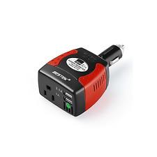 BESTEK 150W Power Inverter 3.1A Dual USB Charging Ports For laptop phone Tablet