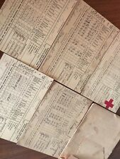 100 year old REPORT CARDs 4 total - dated 1918-1922