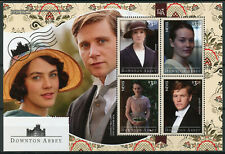 Nevis 2014 MNH Downton Abbey Lady Sybil Crawley 4v M/S TV Series Stamps