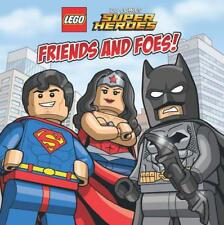 Lego(R) Dc Superheroes Friends and Foes (Lego Dc Superheroes) by Trey King Pap