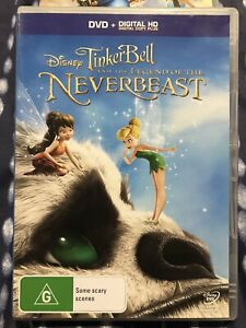 TINKER BELL AND THE LEGEND OF THE NEVERBEAST *GC* R4 DVD TINKERBELL