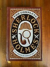 The Complete Sherlock Holmes Story Collection Leather by Sir Arthur Conan Doyle
