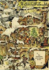 Weihnacht der Tiere Adventskalender aus dem Bayerischen Nationalmuseum München