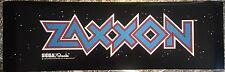 """Zaxxon Arcade Marquee 26""""x8"""""""