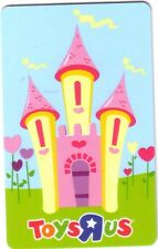 TOYSRUS PINK CASTLE Limited Ed COLLECTIBLE Gift Card New No Value bilingual