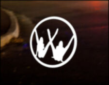 Chers VW Voiture Logo Decal Autocollant Jdm VW Dub Drôle Beetle Bug Golf Polo Camper
