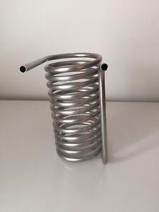 Serpentina Raffreddamento  in acciaio inox