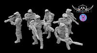Old Republic Trooper Squad | Star Wars Legion Custom 3D Printed HQ Miniatures