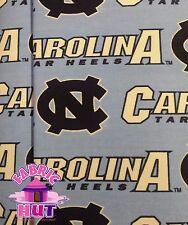 NCAA North Carolina Tar Heels Cotton Twill Team Fabric by the Yard