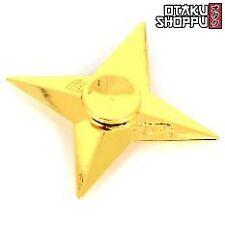 Naruto Shippuden Shuriken Fidget Spinner (Gold)
