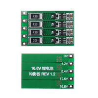 4S 16.8V 100A BMS PCB Protection Board 18650 Li-ion Lithium Battery Cell HOT2020