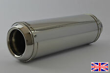 CB125F (15-16) SP Engineering Polished Stainless Domed GP Stubby Exhaust System