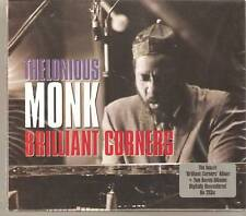 THELONIOUS MONK BRILLIANT CORNERS 2 CD BOX SET