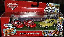 Disney CARS DINOCO 400 RACE FANS Radiator Springs 3-Car Gift Pack MIA TIA JAY W