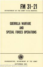 Guerrilla Warfare And Special Forces Operations - Department Of The Army 1961