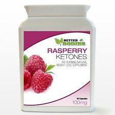 30 Strength Raspberry Ketones Weight Loss Slimming Ketone Diet Capsules Bottle