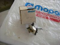 NOS MOPAR 1980-81 TAIL GATE WIPER & WASHER SWITCH VOLARE ASPEN LEBARON DIPLOMAT