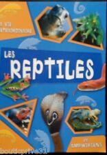 Livre  - La Vie Extraordinaire - Reptiles Et Amphibiens