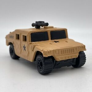 Matchbox Hummer Humvee Tan Loose 1998 1-75 Metal Body Opening Parts