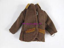 Vtg European Todd Tutti's Brother Doll Fashion ~ Brown Jacket