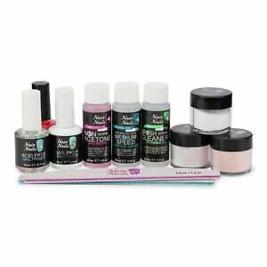 Naio Nails Acrylic Nail Starter Kit - Medium Speed - Natural / French Manicure