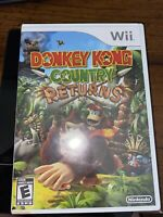NEW- Donkey Kong Country Returns (Nintendo Wii, 2010) Factory Sealed!