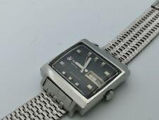 Rare Watch Vintage Rado Ticin Manhattan Automatic Nsa Strap