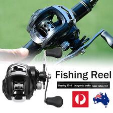 AU 17+1 BB Baitcasting Fishing Reels High Speed Left/Right Smooth Fishing Reel.