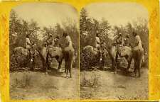 Powell Survey Hillers Indians of the Colorado Valley stereoview No.58 by Hillers