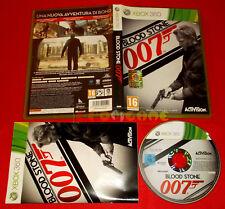 007 BLOOD STONE XBOX 360 Versione Ufficiale Italiana 1ª Edizione COMPLETO - FG