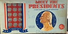 Vintage Meet The Presidents Game by Selchow & Righter Co.