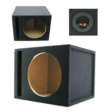 "1x Audiotekaudiotek Single 12"" Ported Subwoofer Enclosure Car Audio Box 1"" Mdf"
