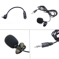 Microphone externe Clip On Mic Cable Adaptateur GoPro Hero 3 3+ 4 Accessoires