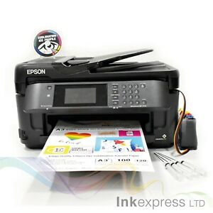 None OEM A3 Dye Sub Sublimation Printer Epson WF-7710 + CISS + Ink + A3 Papers
