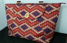 New! Orig $125, Baggallini Gold Alberta Travel Laptop Tote – Aztec Berry