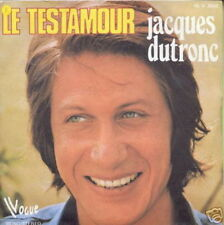 JACQUES DUTRONC 45 TOURS FRANCE LE TESTAMOUR (2)
