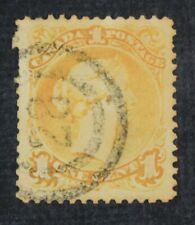 CKStamps: Canada Stamps Collection Scott#23i Victoria Used Appear Thin