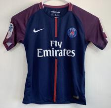 Nike Paris St. Germain Fly Emirates 2017 Dri-Fit soccer Neymar JR Jersey Size M