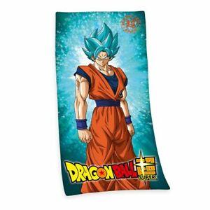 DRAGON BALL - BADETUCH SAUNATUCH HANDTUCH -  150x75cm SUPER SAIYAJIN SON GOKU