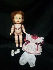 Littlest Angel Doll Arranbee R&B 10in Vinyl Head Hard Plastic Body Walker 1950s