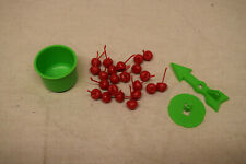 1999 Hi Ho! Cherry-O Board Game Replacement Parts/Pieces Cherries Bucket Spinner