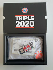 ADIDAS TRIPLE AWAY 2020 SHIRT BAYERN MUNICH MONACO LEWANDOWSKI XL + BADGES + BOX