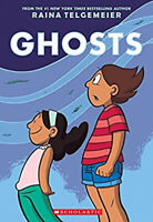 Ghosts by Raina Telgemeier Paperback BOOK FREE SHIPPING
