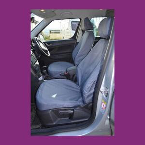 Skoda Yeti 2009+ Tailored Waterproof Front Pair Grey Car Seat Covers