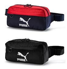 754cf282c PUMA Originals BUM Waist Bags Sports Black Waist-belt Running Bag Sacks  07607101