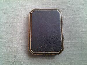 Tiffany Patek Philippe Vacheron Pocket Watch Box 1930