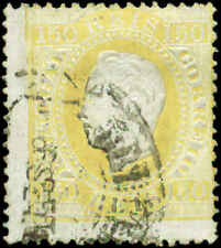 Portugal Scott #48a Used  Perf 13 1/2