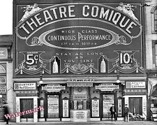 Photograph of the Theatre Comique in Detroit Michigan  Year 1910   8x10