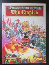 Warhammer Fantasy --  Warhammer Armies The Empire (1992)